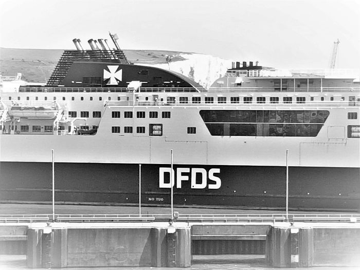 DFDS Ferries At The Port of Dover UK 2018 2018 2018 EyeEm 2018 Year DFDS Seaways Dover Dover, England England 🇬🇧 England, UK English Channel Great Britain Transport Transport Photography Transportation Travel Travel Photography United Kingdom Ferries Mode Of Transportation Nature No People Outdoor Outdoors Port Of Dover Sea And Sky Transportation