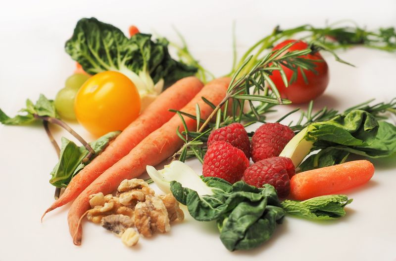 Berry Fruit Carrot Close-up Food Food And Drink Freshness Fruit Green Healthy Eating Herb Indoors  Leaf No People Plant Part Plate Root Vegetable Still Life Tomato Vegetable Wellbeing