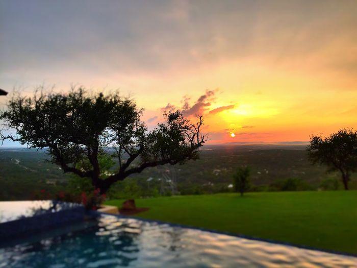 Sunset TheCalmAfterTheStorm IPhoneography Austin Texas