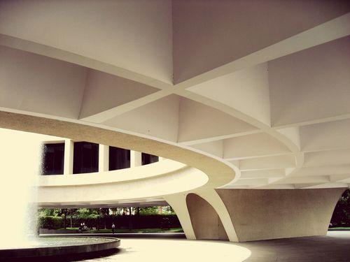 Whasingthon-dc Museum Hirshhorn  Urban Architecture USA