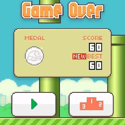 Malayo layo na rin ang narating HATEYOU Flappybird Best60