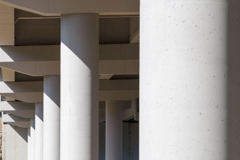 Building Built Structure Concrete Exterior Freeway Freeway Construction Concrete Geometric Shape No People Outdoors Overpasses Tunnel