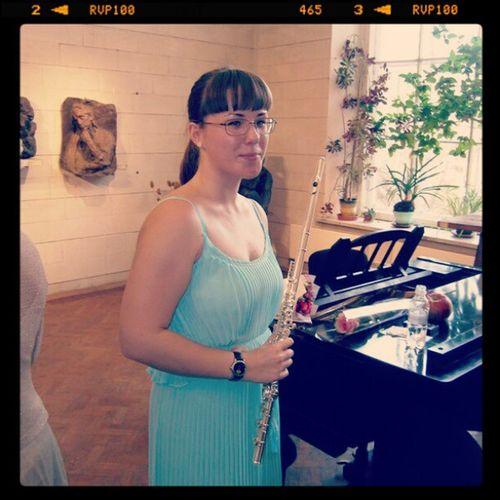 концерт флейта я платье музей