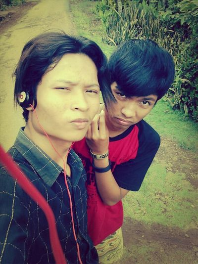 me and my brother...