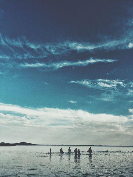 Balaton Badacsony Dramatic Sky Iphone 6 IPhoneography Lake View Lake Surrealism Sillouette