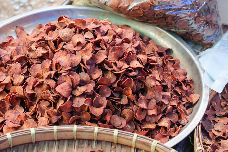 Betel Nut Betel Nuts Dried Food Food Food And Drink Large Group Of Objects Close-up Retail  For Sale Market Focus On Foreground Temptation Freshness No People Abundance Healthy Eating Wellbeing Still Life High Angle View Day Fruit