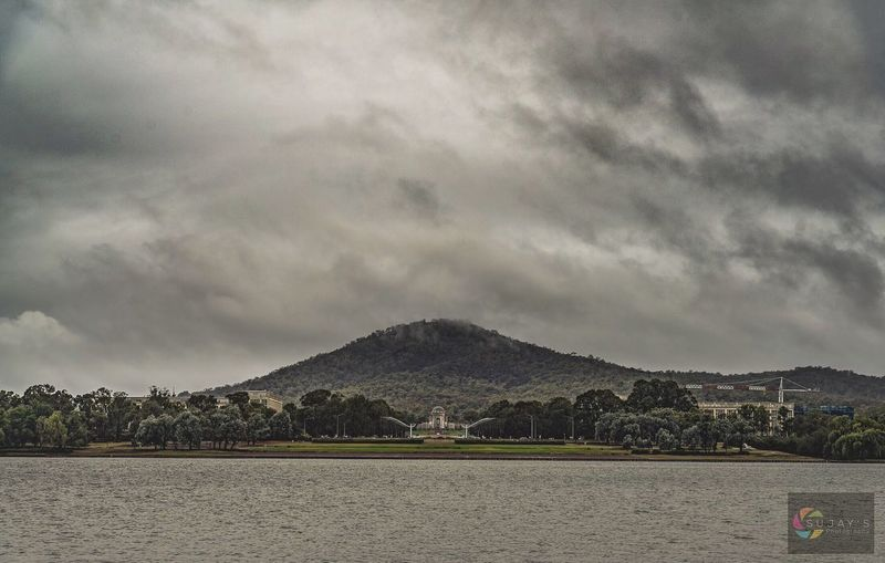 #floods2018 #visitcanberra Cloud - Sky Mountain Sky Built Structure No People Day Outdoors Nature Beauty In Nature Building Exterior Tranquility Scenics Mountain Range Water Architecture Sea Tree