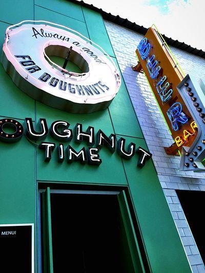 Donuts Enjoying Life