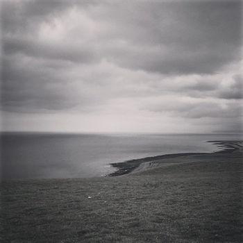 Somewhere in Wales. Westwales Coastline Sky Blackandwhite Android Igwales