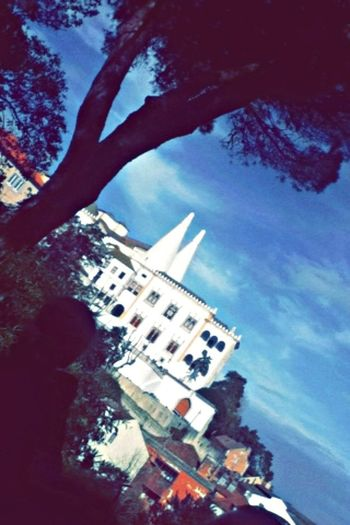 Taking Photos Sintra Palácio Da Vila-Sintra Fim De Tarde