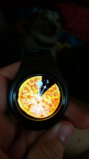 Pizza Love New Watch Face Smartwatch It Steams