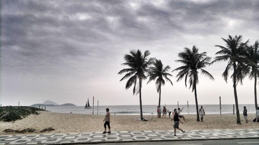 Beach Photography Beach Riodejaneiro Leblon Brazil Love Sky Cometobrazil