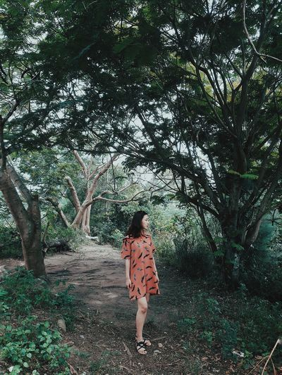 Kyduyen Forest Forest Photography Forever Young Forest Trees Forestwalk Pictureoftheday Girls Nature Tree Rear View Today's Hot Look Moments Of Life Moment In Time Momentos Enjoying Life Enjoy The Moment Enjoy Time Likesforlikes Likealways Have A Rest