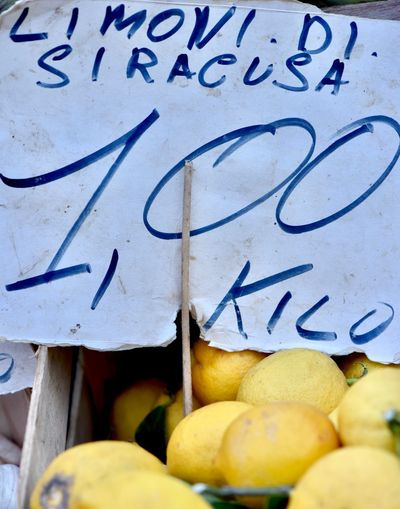 lemon Lemon Text Fruit Food Food And Drink Healthy Eating Wellbeing No People Communication Western Script Citrus Fruit Wall - Building Feature Still Life Indoors  Freshness Graffiti Close-up Day Lemon Handwriting  Message