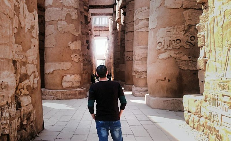 Karnak Cultures Travel Destinations Tourism Outdoors Day History