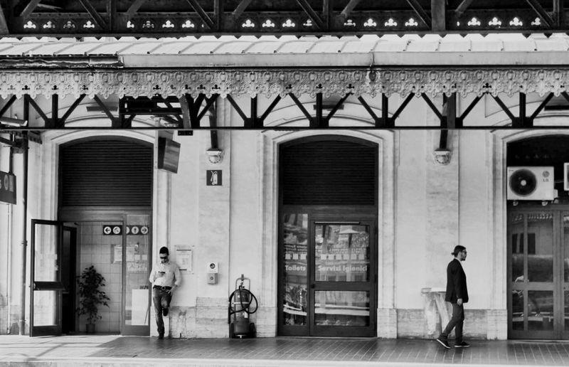 Roma Trainstation Trastevere Cittylife Waiting Stazionetrastevere