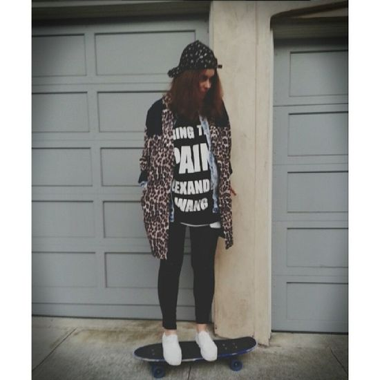 Poser Skateboards California Leopardprint  Madeinhella bringthepainalexanderwang sanfrancisco me