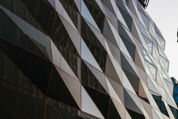 Built Structure Building Exterior Architecture Low Angle View Building No People City Sky Window Day Full Frame Modern Outdoors Nature Glass - Material Clear Sky Office Building Exterior Pattern Office Repetition Skyscraper