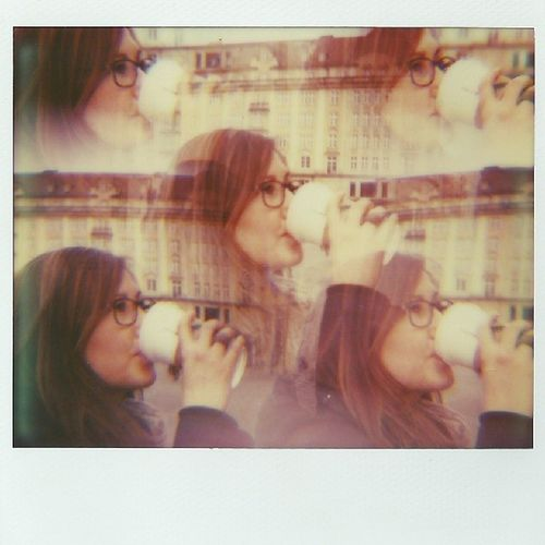 FIVE COFFEE'S Polaroid Impossible Imagesystem Impossibleproject spectra colorshade spezial-effekt-filter dresden altmarkt mayapapayapolaroid.blogspot.de
