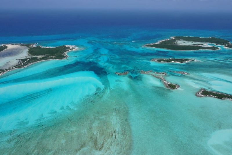 Water_collection Aerial View Bahamas Exuma Cays Aerial Photography Water Sea Scenics - Nature Beauty In Nature Turquoise Colored Nature Land Beach Blue Day Tranquil Scene Tranquility Idyllic Underwater No People Transparent Waterfront Outdoors Sky Lagoon
