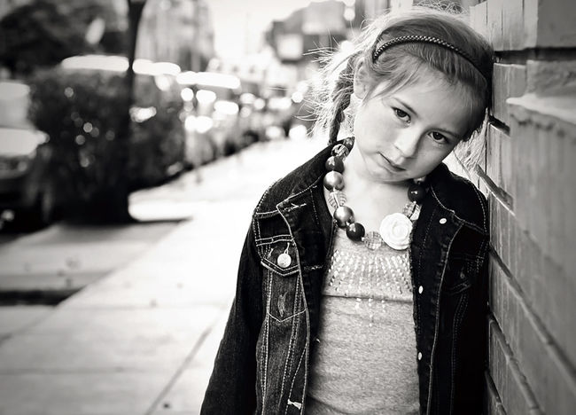 Sunsetting behind us on the street Embrace Urban Life Everyday Emotion Backlit Sunset Blanco Y Negro Casual Clothing Child Photography Child Portrait Childhood Cute Dof Elementary Age Front View Innocence Leisure Activity Lifestyles Looking At Camera Nikon Person Ponytail Port Portrait S San Francisco Urban The Portraitist - 2016 EyeEm Awards