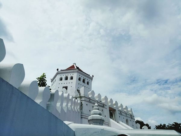 The fort of Thailand Sky Architecture Close-up Outdoors
