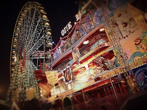 night out with colleagues!! Enjoying Life Nightphotography Bigwheel