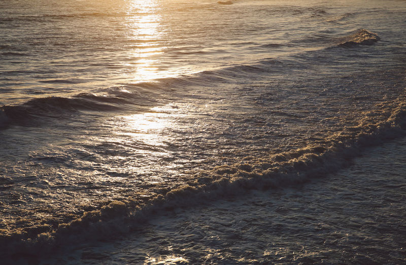 California Ventura Beach Beauty In Nature Day Motion Nature No People Outdoors Scenics Sea Sunlight Sunset Tranquil Scene Tranquility Water Waterfront Wave