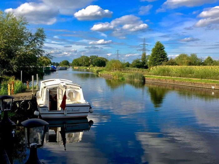 Messing about on the river. Cloud - Sky Sky Water Transportation Lake Tree Mode Of Transport