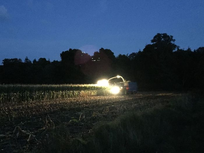 Night harvest Nightlife Nightlighting Farm Life Farming Harvest Time Harvesting The Land Harvester, Combine Harvester Night Harvest Outdoors