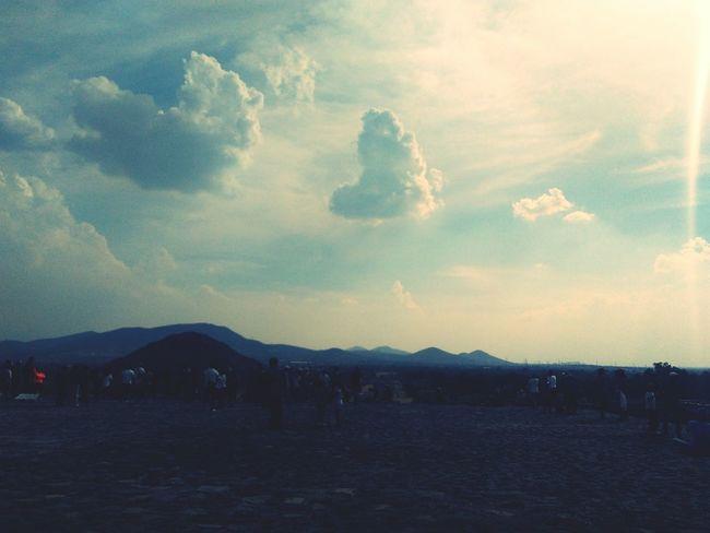 El amor es del cielo sin duda Cloud - Sky Landscape Sky Outdoors Mountain Nature No People