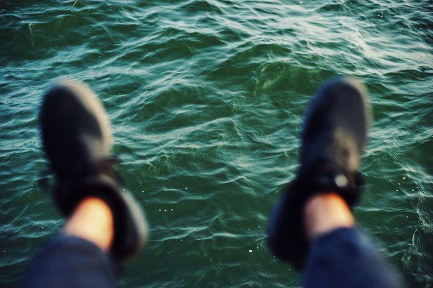 Water Human Hand Rippled Swimming Close-up UnderSea Underwater Sea Life