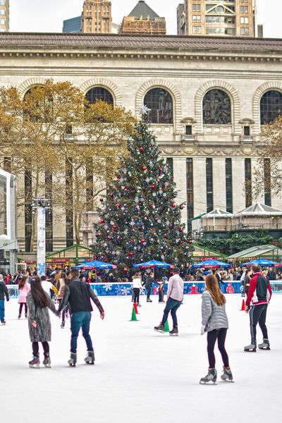NYC Parks NYC LIFE ♥ NYC NYC Photography Christmas Spirit Christmas Time Winter Enjoying Life Christmas2017 Christmas Tree Bryant Park  Bryantpark Large Group Of People Christmas Tree Christmas Tourism Full Length Vacations Architecture Travel Destinations Ice Rink Real People Winter Ice-skating Tree Day Christmas Decoration Leisure Activity Lifestyles