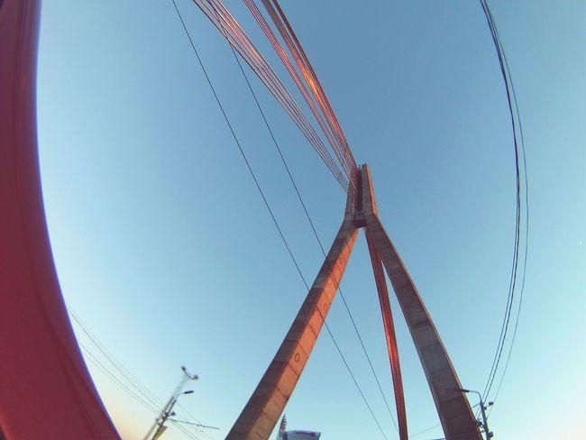 Bridge Wideangle Riga Latvia Riga