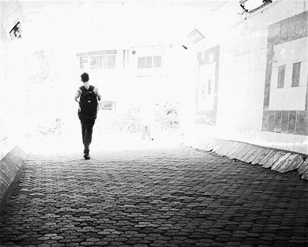 Looking To The Other Side Mumbai B_w Monochrome Smartphone Photography Smartphone_bw Collegedays Darkness And Light EEA3-MUMBAI EyeEm Masterclass The City Light Long Goodbye