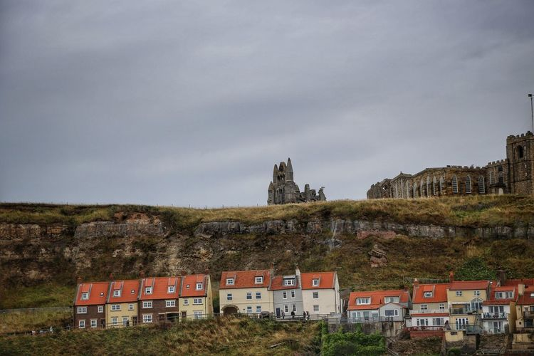 Whitby Whitby Whitby Abbey Architecture Built Structure Building Exterior Sky Building History Nature The Past Day Cloud - Sky No People Fort Travel Destinations Mountain Plant Land Old Tree Castle Outdoors Ruined