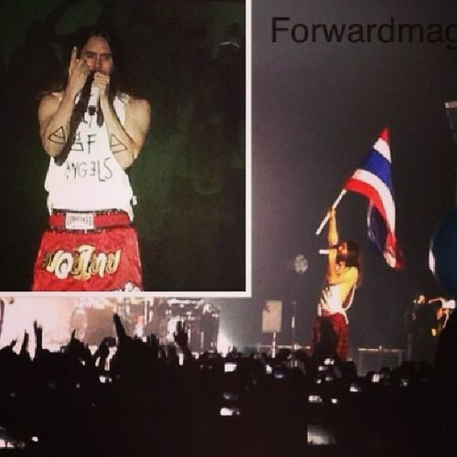 Live in Bangkok Thailand 5th April 2014...\m/ Forwardmag Jaredleto 30secondstomars
