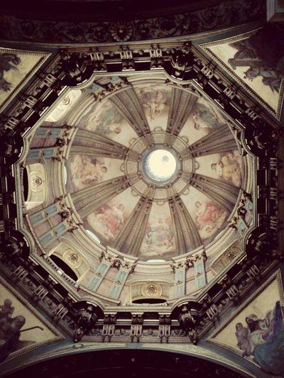 Cúpula da Igreja da Candelária. Realmente encantador!!! Candelaria Art Architecture History