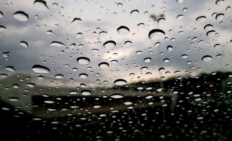 Raindrops Rain Rainy Days City Moments Enjoying Life