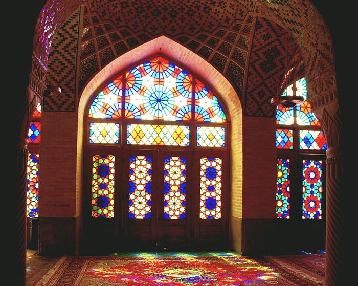 Stained Glass Indoors  Spirituality No People Arch Architecture Place Of Worship Religion Day Photooftheday EyeEm Best Shots Eyeemarchitecture Spirituality Architecture Multi Colored Indoors  Iranan Architecture Photobomb Arcitecturephotography Arcitechturphotograph First Eyeem Photo Indoors  Arcitecture Window Colorful