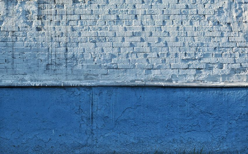 Blue Full Frame Textured  Backgrounds Wall - Building Feature Pattern Built Structure Architecture No People Day Close-up Building Exterior Old Textile Wall Damaged Painted Outdoors Rough Weathered