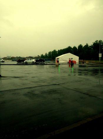 rain Streetphotography Scolkovo