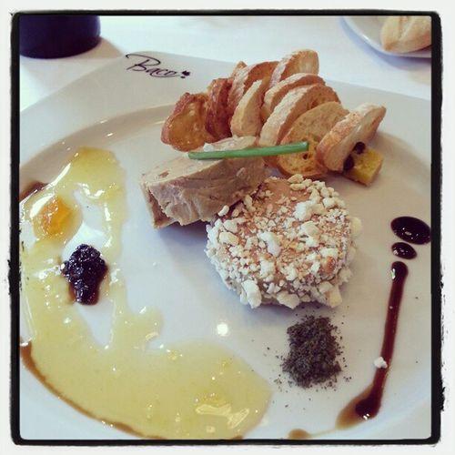 Foie d oca micuit con maíz y confitura d naranja y clavo #cuna2