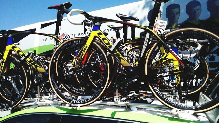 Tour De France Cyclisme Tarbes Velos Look Bycicle 2015