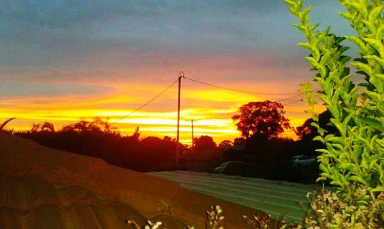 Sun set Perth Australia