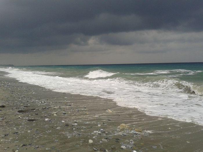 Clouds And Sky Sea And Sky Leptokarya Deep Blue