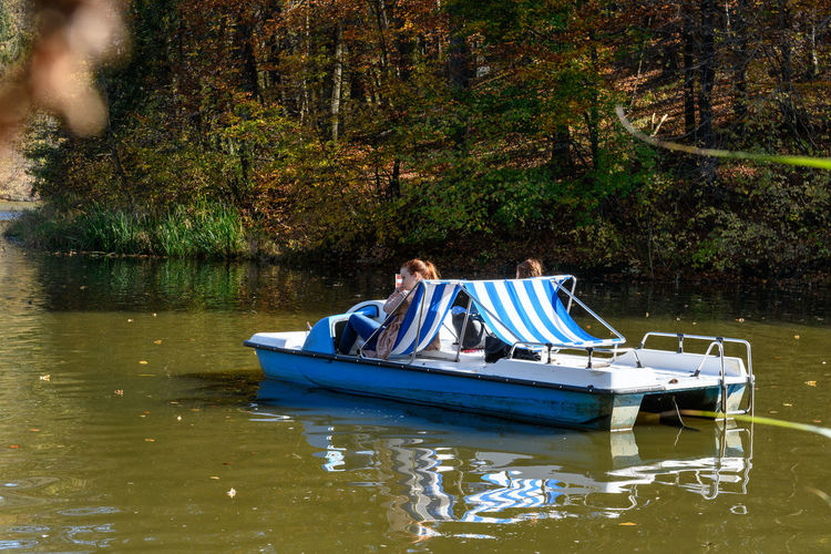 Pedalo on the