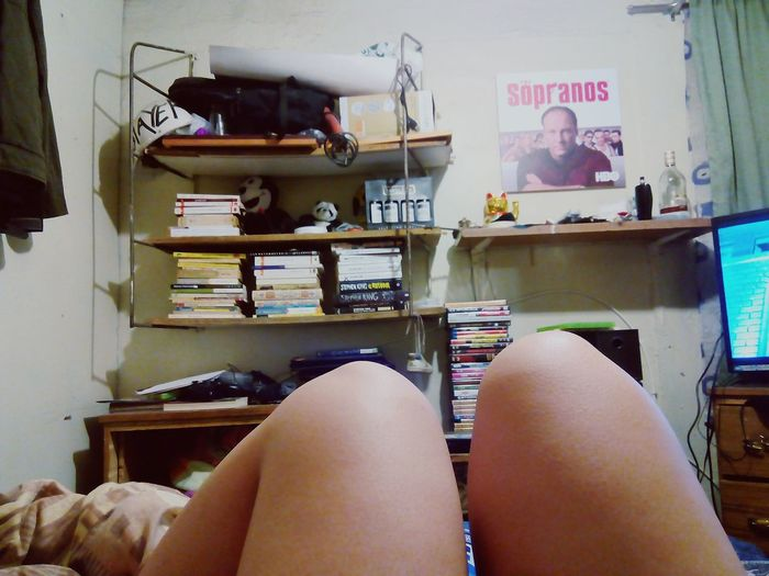 BlueRay and books. The great sensation. Books. Blueray Movies!  Santiago De Chile My Legs Relaxing