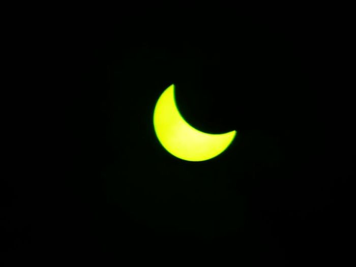 Solar Eclipse Eclipse Astronomy Space Natural Phenomenon Beauty In Nature Outdoors No People Sky