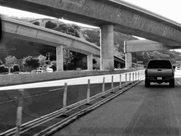 eyeem gallery Black & White On The Road In A Car Taking Photos Blackandwhite Photography on the 91